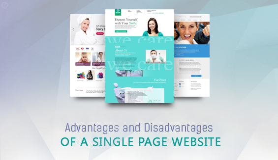 single-page-website-advantages-and-disadvantages