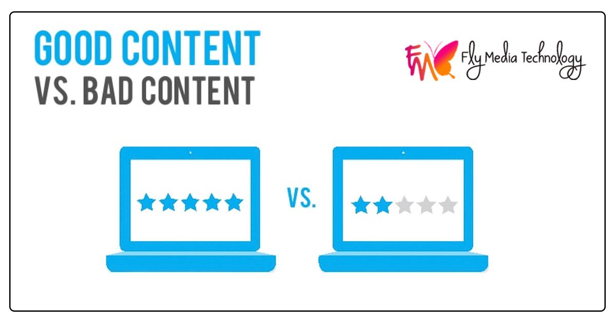 Good Content vs Bad Content