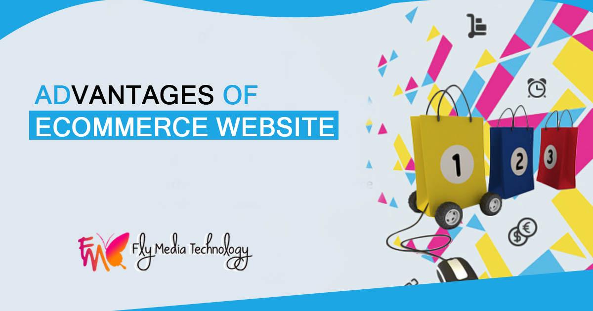 Advantages of ecommerce website