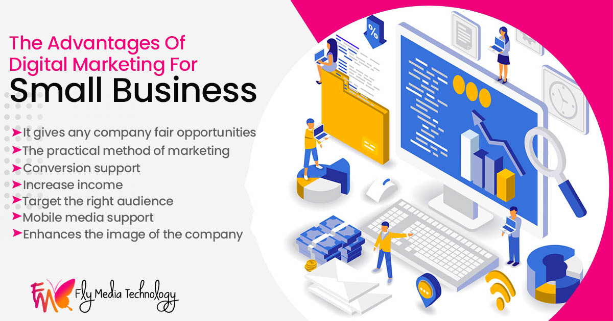 What are the advantages of digital marketing for Small Business?