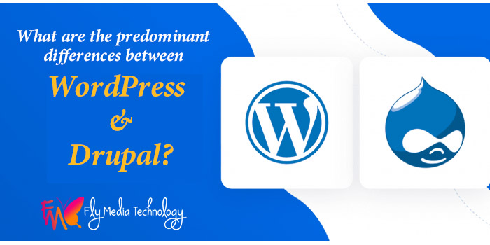 What are the predominant differences between WordPress and Drupal